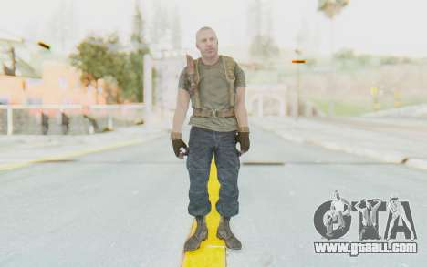 COD BO Hudson Ubase for GTA San Andreas second screenshot