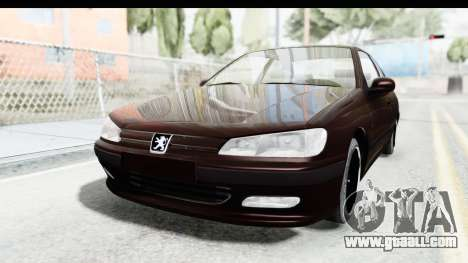 Peugeot 406 Coupe for GTA San Andreas back left view