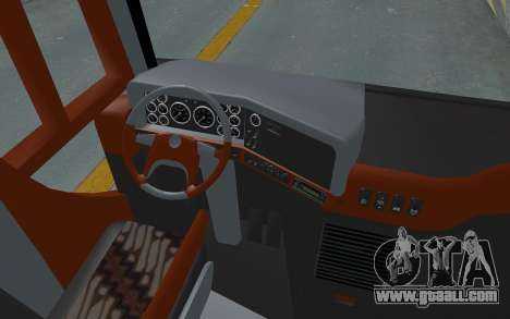 Hino Evo-C Transjakarta Feeder Bus for GTA San Andreas back view