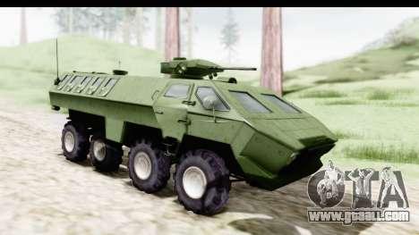 Lazar Serbian Armored Vehicle for GTA San Andreas