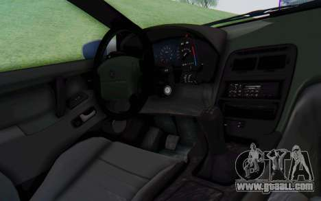 Nissan 300ZX Monster Truck for GTA San Andreas inner view