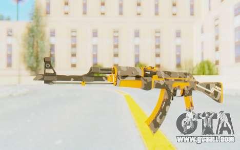 CS:GO - AK-47 Vanquish for GTA San Andreas second screenshot
