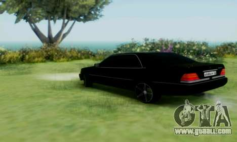 Mercedes-Benz MB W140 1999 for GTA San Andreas right view