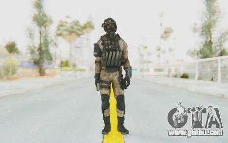Federation Elite SMG Desert for GTA San Andreas second screenshot