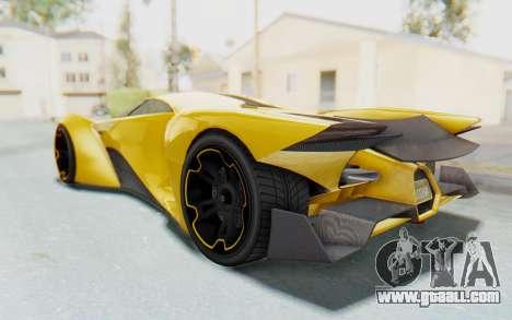 GTA 5 Grotti Prototipo v2 IVF for GTA San Andreas left view