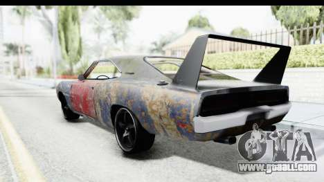 Dodge Charger Daytona F&F Bild for GTA San Andreas left view