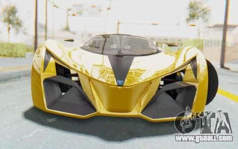 GTA 5 Grotti Prototipo v2 IVF for GTA San Andreas