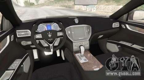 GTA 5 Maserati Quattroporte 2013 right side view