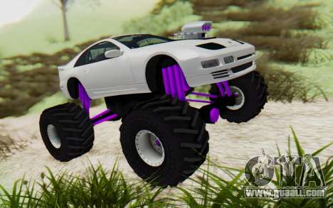 Nissan 300ZX Monster Truck for GTA San Andreas right view