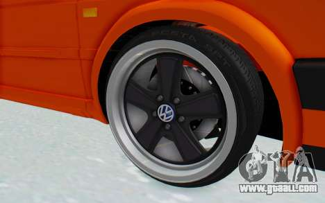 Volkswagen Golf 2 GTI 1.6V for GTA San Andreas back view