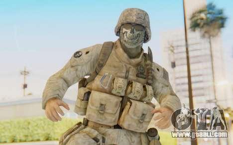 CoD MW2 Ghost Model v3 for GTA San Andreas