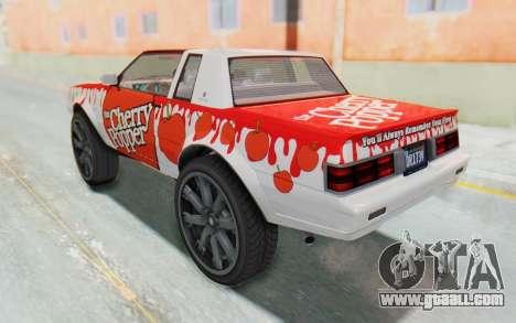 GTA 5 Willard Faction Custom Donk v1 for GTA San Andreas upper view
