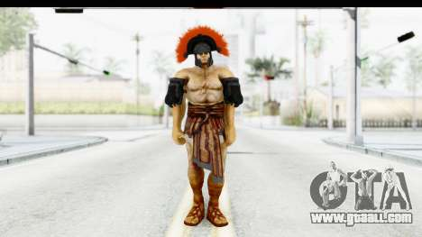 God of War 3 - Hercules v1 for GTA San Andreas second screenshot
