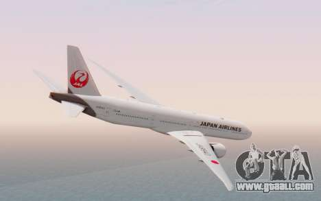 Boeing 777-300ER Japan Airlines v2 for GTA San Andreas left view