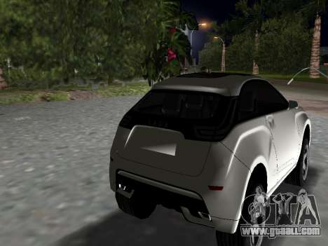 Lada X-Ray for GTA Vice City left view