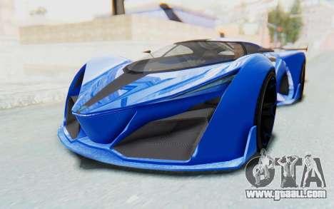 GTA 5 Grotti Prototipo v1 for GTA San Andreas