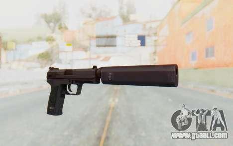 H&K 45 Silenced for GTA San Andreas second screenshot