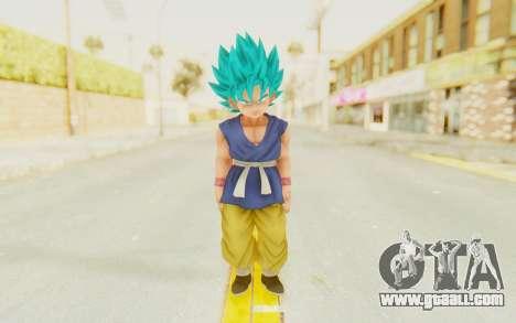 Dragon Ball Xenoverse Goku Kid GT SSGSS for GTA San Andreas second screenshot