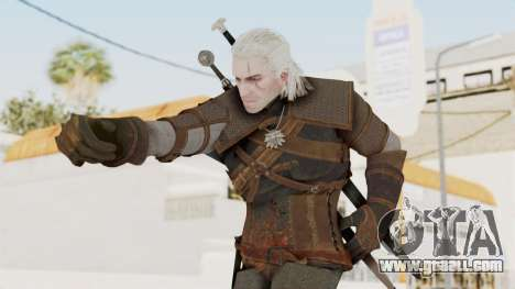 The Witcher 3: Wild Hunt - Geralt of Rivia for GTA San Andreas