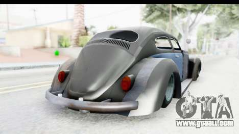 Volkswagen Beetle 1963 Hotrod for GTA San Andreas left view