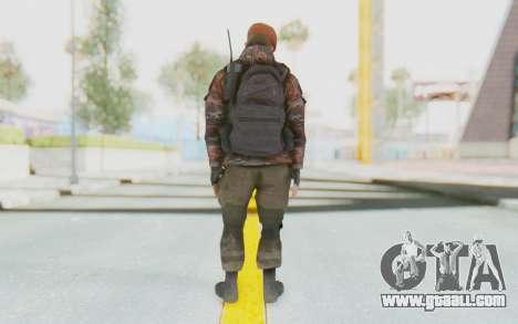 COD MW2 Russian Paratrooper v4 for GTA San Andreas third screenshot