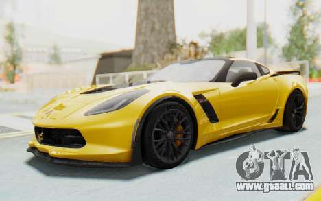 Chevrolet Corvette C7.R Z06 2015 for GTA San Andreas