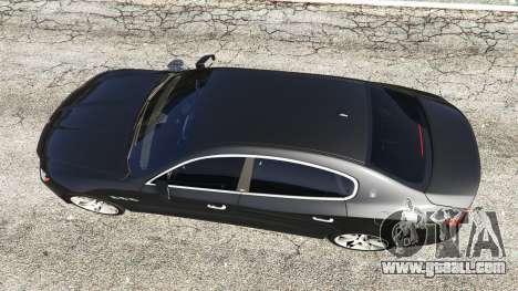 GTA 5 Maserati Quattroporte 2013 back view