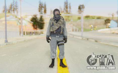 COD BO Bruce Harris Winter for GTA San Andreas second screenshot