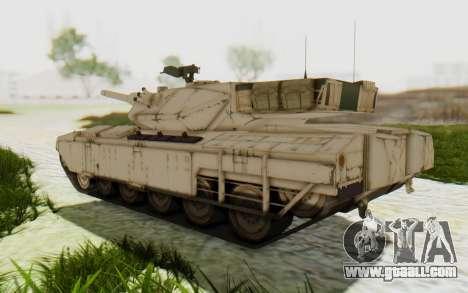 MGSV Phantom Pain M84A MAGLOADER for GTA San Andreas right view