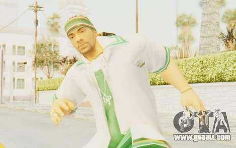 Def Jam Fight For New York - Sean Paul v2 for GTA San Andreas