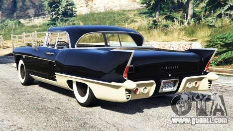 GTA 5 Cadillac Eldorado Brougham 1957 v1.1 rear left side view