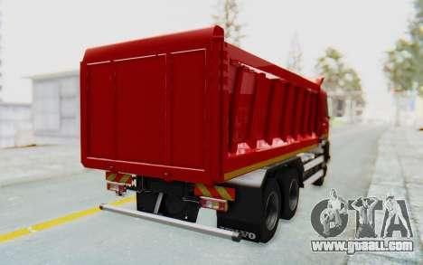Volvo FMX 6x4 Dumper v1.0 for GTA San Andreas left view