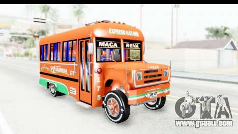 Dodge D600 v2 Bus for GTA San Andreas right view