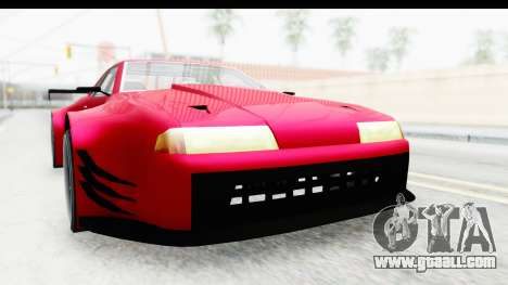 Elegy KraZ Edition Beta 0.8.5 for GTA San Andreas right view