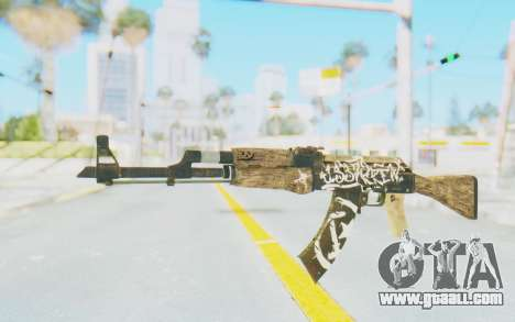 CS:GO - AK-47 Wasteland Rebel for GTA San Andreas