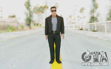 WWE2k16 Arnold Schwarzenegger Terminator for GTA San Andreas second screenshot