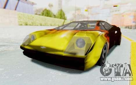 GTA VC Cuban Infernus for GTA San Andreas