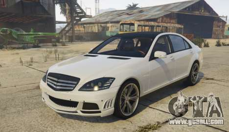 Mercedes-Benz S65 AMG (W221) for GTA 5