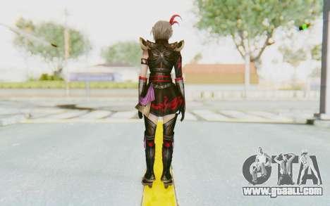 Dynasty Warriors 8 - Lu Lingqi v1 for GTA San Andreas third screenshot