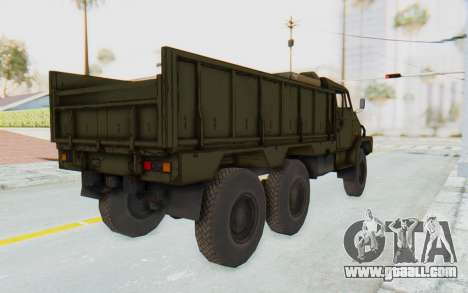 MGSV Phantom Pain BOAR 53CT Truck for GTA San Andreas left view