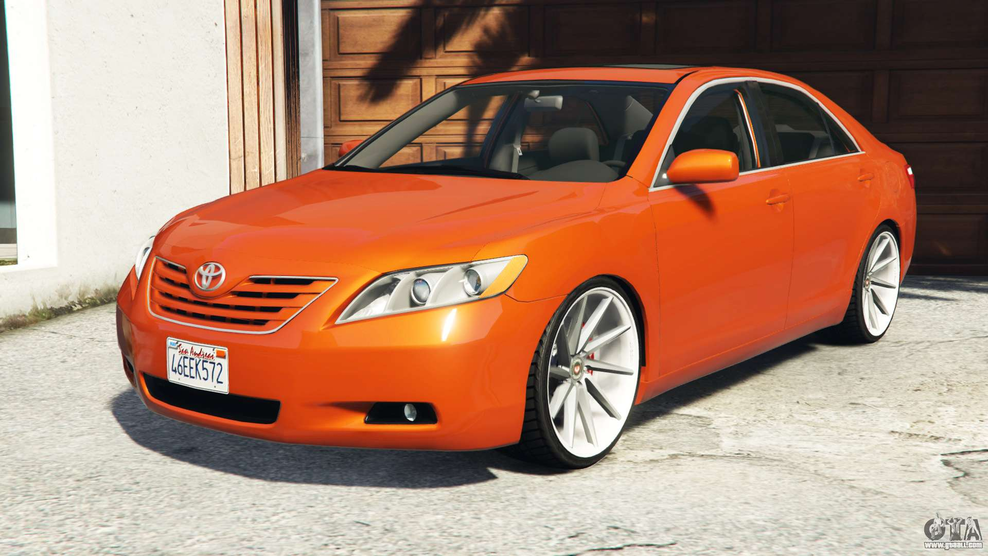 toyota camry v40 2008 add on for gta 5. Black Bedroom Furniture Sets. Home Design Ideas