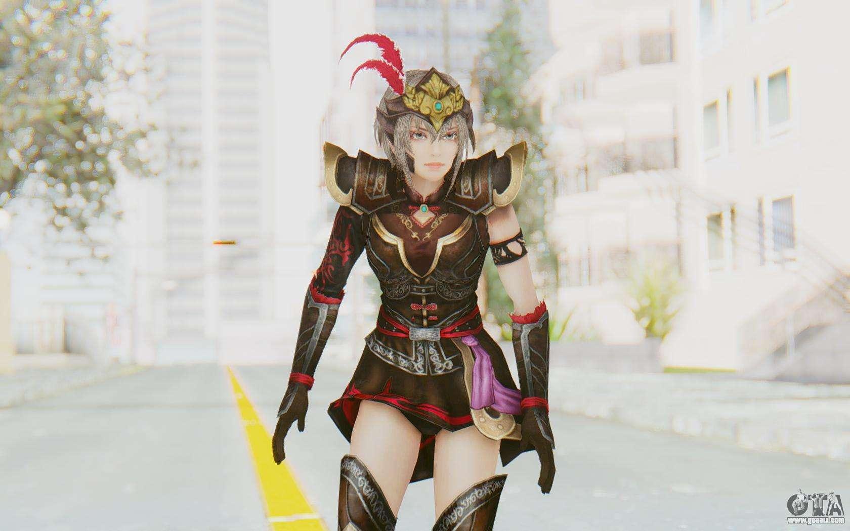 Dynasty warrior lu lingqi hentai porn picture