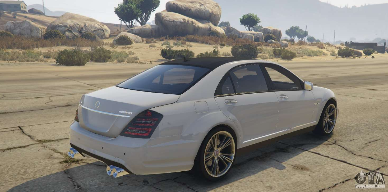 mercedes benz s65 amg w221 for gta 5