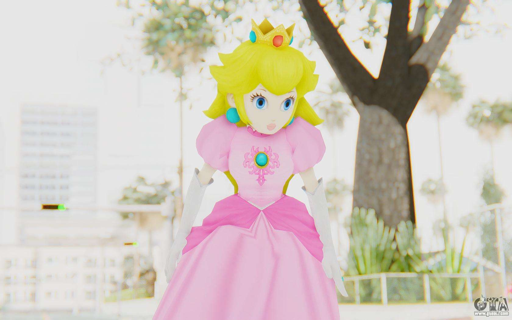 Princess Peach For Gta San Andreas-2718
