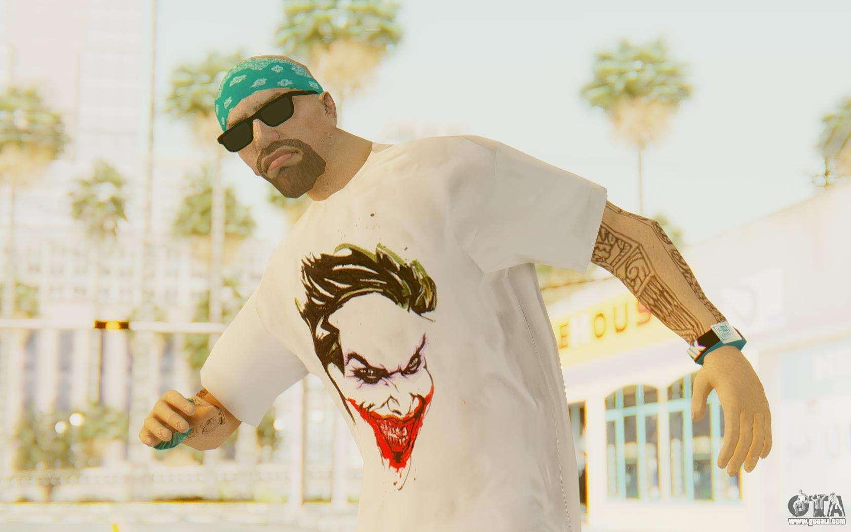 Batman Arkham City - Joker Skin v1 for GTA San Andreas