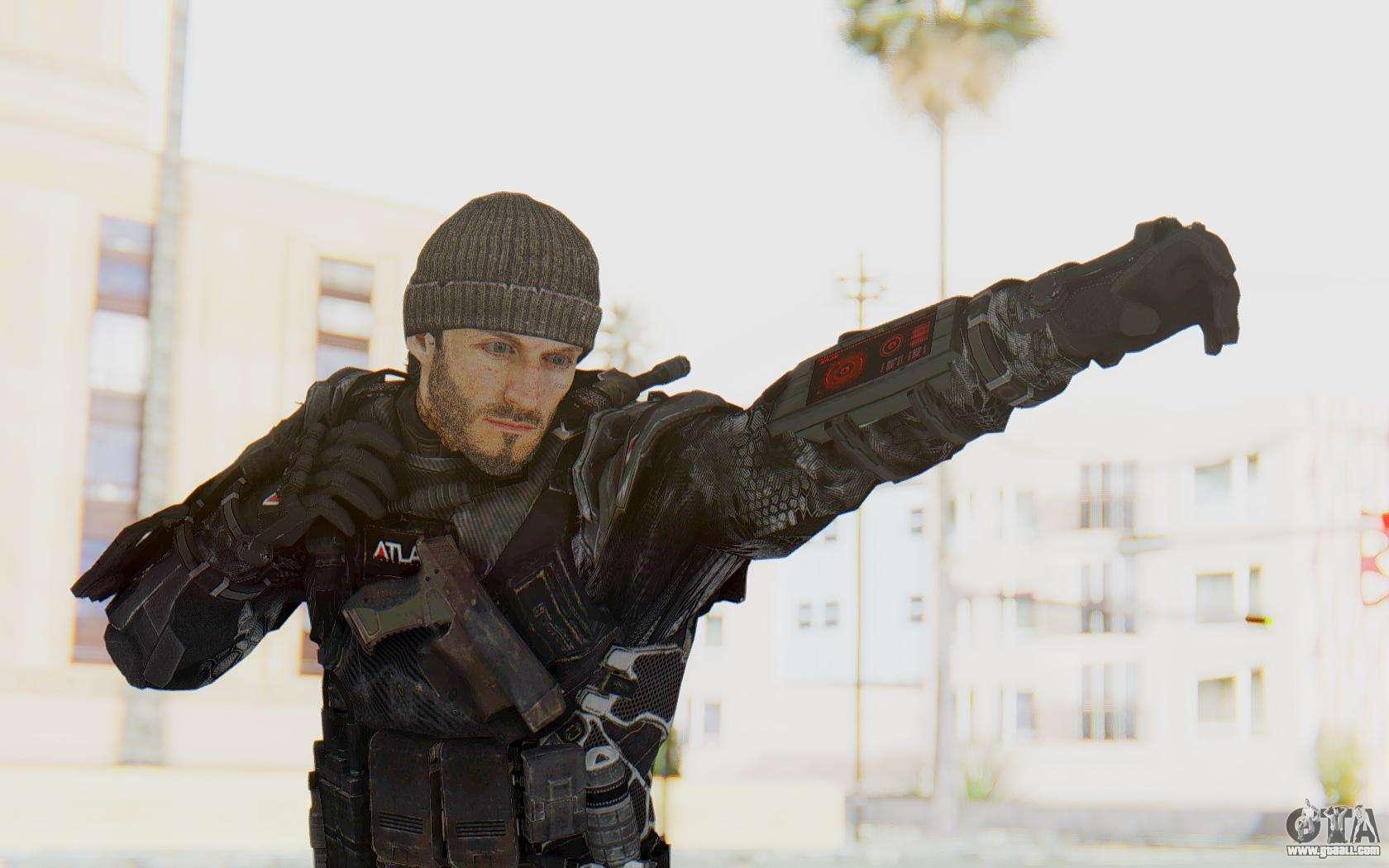 CoD Advanced Warfare Gideon for GTA San Andreas