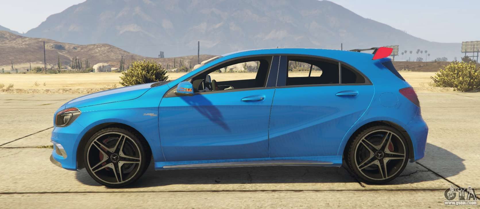 Mercedes benz a45 amg 2017 for gta 5 for Mercedes benz amg 2017