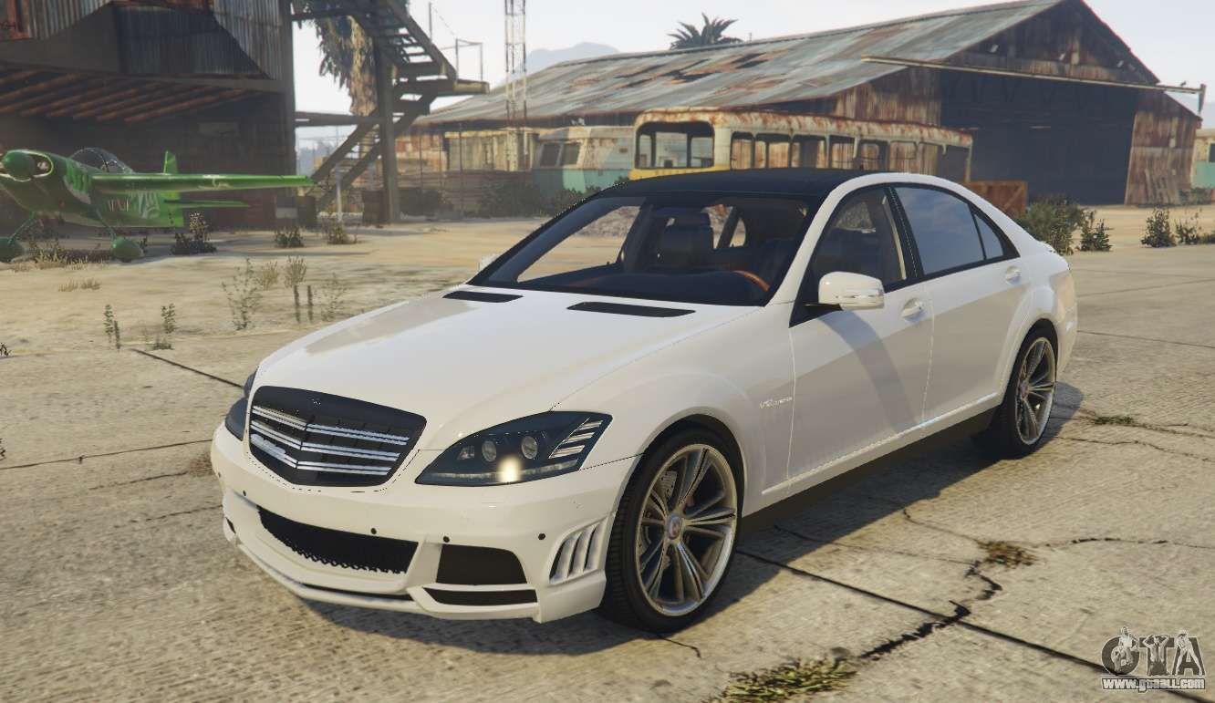 Mercedes benz s65 amg w221 for gta 5 for Mercedes benz gta