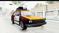 Zastava Yugo Koral Rat Style for GTA San Andreas
