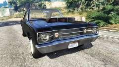 Dodge Dart 1968 Hemi for GTA 5